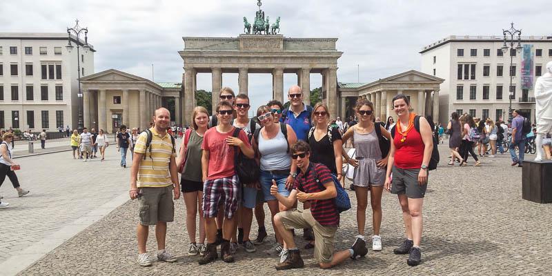 Scouting André de Thaye Arnhem: Explorers in Berlijn