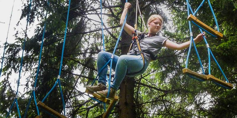 Scouting André de Thaye: Explorers in actie